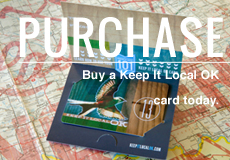 Purchase. Buy a Keep it Local card today.