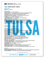 tulsa merchant list graphic